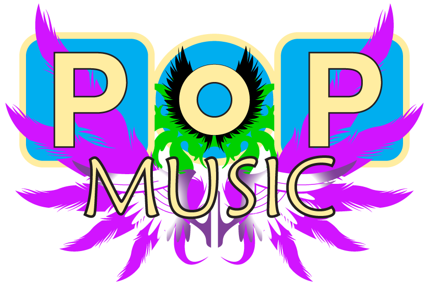 Pop Music Title Graphic